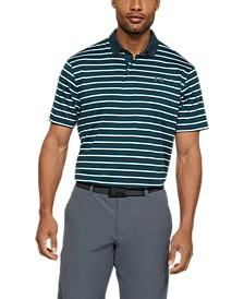 Men's Performance Polo Textured Stripe