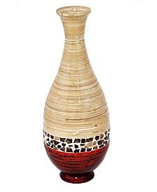"""Lila 27"""" Bamboo Floor Vase"""
