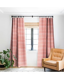 Deny Designs Heather Dutton Crystalline Living Coral Curtain