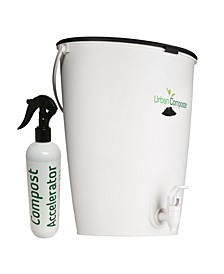 Urban Composter and Urban Compost Accelerator Spray Kit
