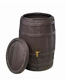 Exaco Trading Vino Style Rain Barrel with Fast Flow Tap - 67 Gallon