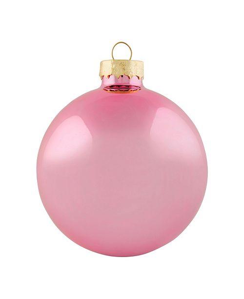 "Whitehurst 2"" Glass Christmas Ornaments - Box of 28"