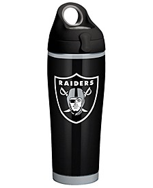 Oakland Raiders 24oz Rush Stainless Steel Tumbler