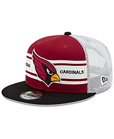 Arizona Cardinals Classic 77 Stripe Mesh 9FIFTY Cap