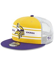 New Era Minnesota Vikings Classic 77 Stripe Mesh 9FIFTY Cap