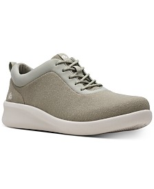Clarks Women's CloudSteppers Sillian 2.0 Pace Wedge Sneakers