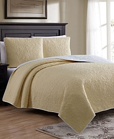 Marseille Twin 2 Piece Quilt Set with Shams