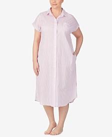 Lauren Ralph Lauren Cotton Ballet Sleep Shirt