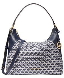 Michael Michael Kors Aria Leather Shoulder Bag