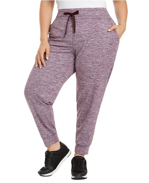 Calvin Klein Plus Size Pull-On Jogger Pants