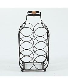 Luxen Home Metal Tabletop Wine Rack