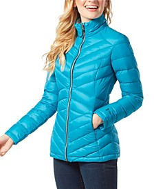 Down Light Weight Quilted Puffer Coat