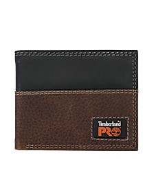 Teak Billfold Wallet with Back Id