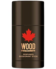 DSQUARED2 Men's Wood For Him Deodorant Stick, 2.5-oz.