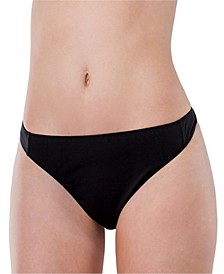 Essentials Cotton Stretch High Waist Thong