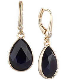 Stone Teardrop Lever Back Earrings, Created for Macy's