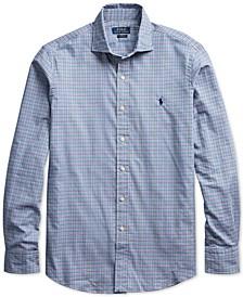 Men's Big & Tall Twill Sport Shirt