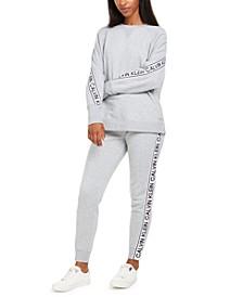Vintage-Logo Sweatshirt & Joggers