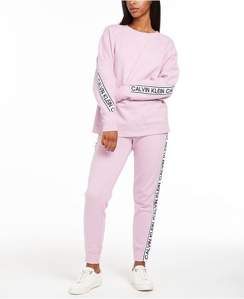 Calvin Klein Vintage-Logo Sweatshirt