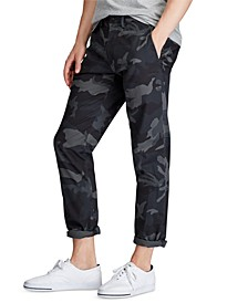 Men's Stretch Slim Fit Camo Cotton Chino