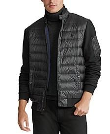 폴로 랄프로렌 Polo Ralph Lauren Mens Double-Knit Jacket,Polo Black