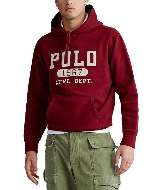Polo Ralph Lauren Men's Vintage Fleece Hooded Sweatshirt