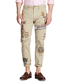 Polo Ralph Lauren Men's Straight Fit Graphic Chino