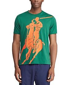 Polo Sport  Ralph Lauren Men's Classic Fit Performance Jersey Cotton Graphic T-Shirt