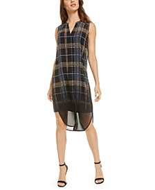 Plaid Dip-Dye Tunic, Created for Macy's