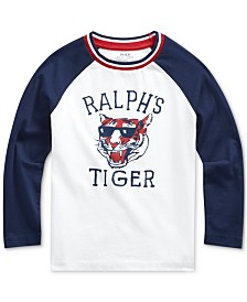 Polo Ralph Lauren Little Boys Basic Jersey Baseball T-Shirt