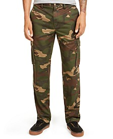 Men's Regular-Fit Camouflage Cargo Pants, Created for Macy's