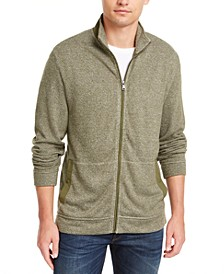 Men's Full-Zip Knit Sweater, Created for Macy's