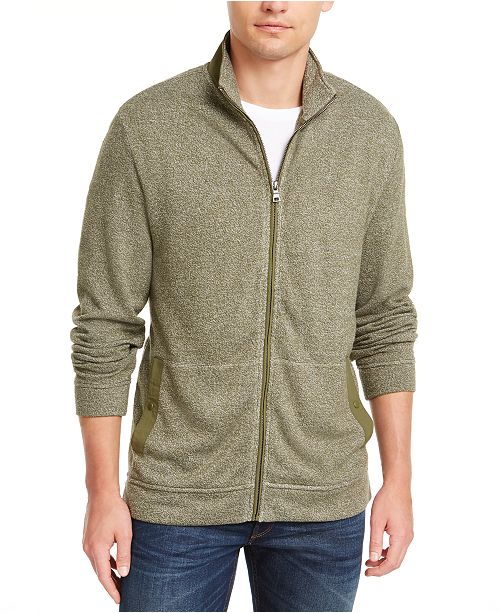 Club Room Men's Full-Zip Knit Sweater, Created for Macy's
