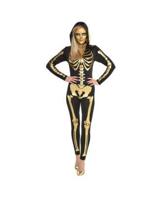 amscan Bone A Field Babe Adult Skeleton Costume