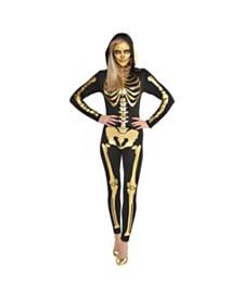 Amscan 24 Carat Bones Adult Women's Costume