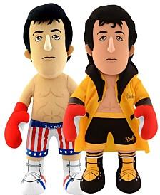 Bleacher Creatures Dynamic Duo - Rocky Balboa Plush Figure Bundle