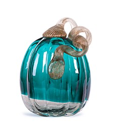 Crackle Glass Pumpkin