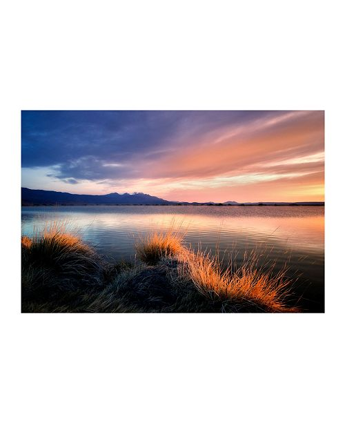 """CHRISTOPHER KNIGHT COLLECTION - Sunrise at Borax Pond Canvas Art, 36"""" x 27"""""""