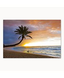 "Collection - Sunset Beach Canvas Art, 27"" x 36"""