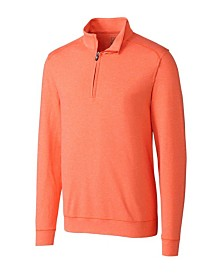 Cutter and Buck Men's Big and Tall Shoreline Half Zip Sweatshirt