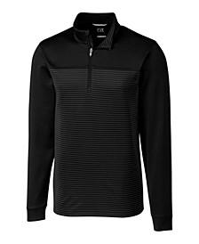 Men's Big & Tall Traverse Stripe Half Zip Sweatshirt