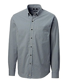 Men's Big & Tall Anchor Gingham Shirt