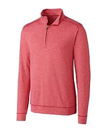 Cutter and Buck Men's Big and Tall Shoreline Half Zip Sweatshirt