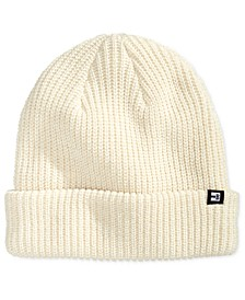 Men's Ribbed Cuffed Beanie