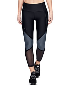 Shine HeatGear® Colorblocked Compression Leggings