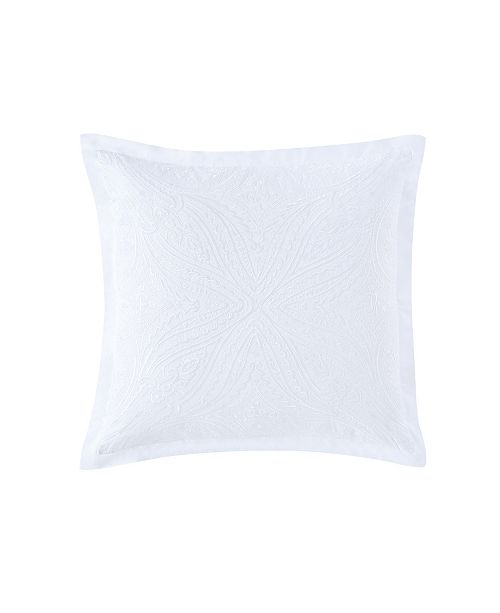 Charisma Settee Square Embroidered Decorative Pillow