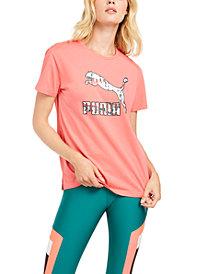 Puma Classics Printed-Logo T-Shirt