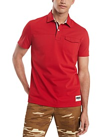 Men's Custom-Fit James Polo Shirt, Created for Macy's