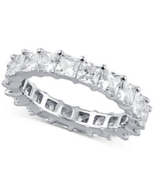 Diamond Princess Eternity Band (4 ct. t.w.) in 14k White Gold