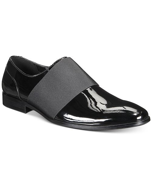 INC International Concepts Men's Kain Patent Loafers